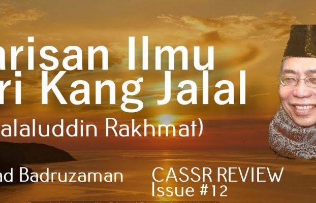 Warisan Ilmu dari Kang Jalal – Dr. Abad Badruzaman