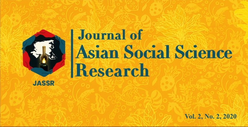 Journal of Asian Social Science Research Vol. 2, No. 2, 2020